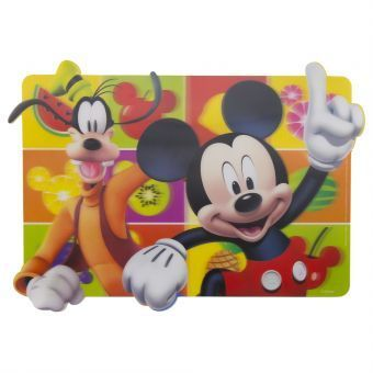 mantel individual lenticular mickey mouse
