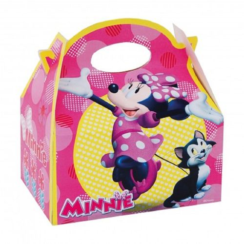 Pack 4 cajas minnie mouse