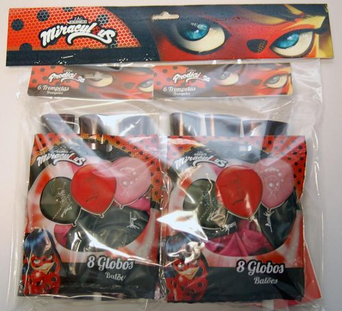 Pack decoracion lady bug