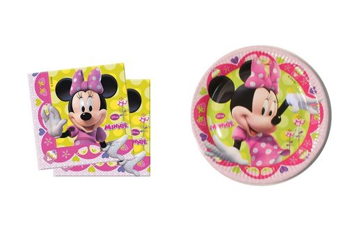 Pack Desechables Minnie Mouse